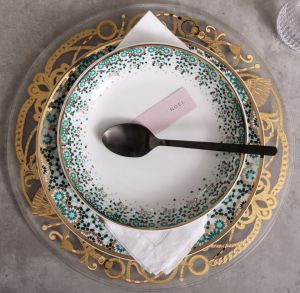 Mirrors Soup Bowl - Emerald