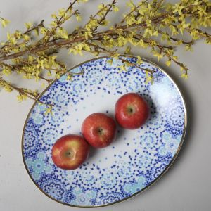 Mirrors Oval Platter