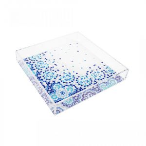 Square Mirrors Tray