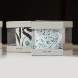 Accents Mug With Gift Box - Turquoise
