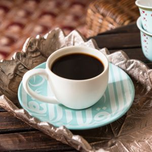Gift Box of 2 Ghida Espresso Cups - Turquoise