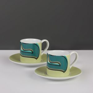 Hubb Espresso Cup and Saucer