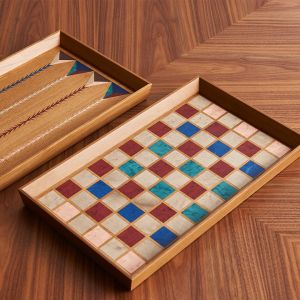 Tray - Chess Pattern