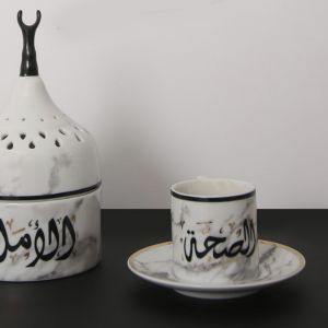 Mulooki Espresso Cup and Saucer