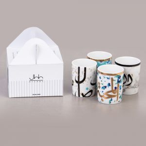 Mix & Match Set of 4 Espresso Cups