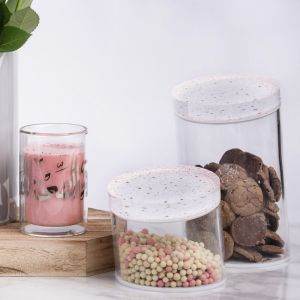 Accents Slanted Container (L) - Coral