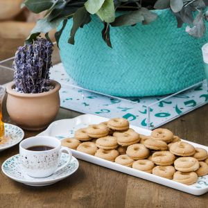 Accents Tray - Turquoise (L)