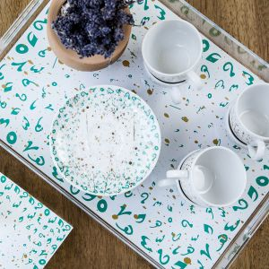 Accents Tray - Turquoise (M)